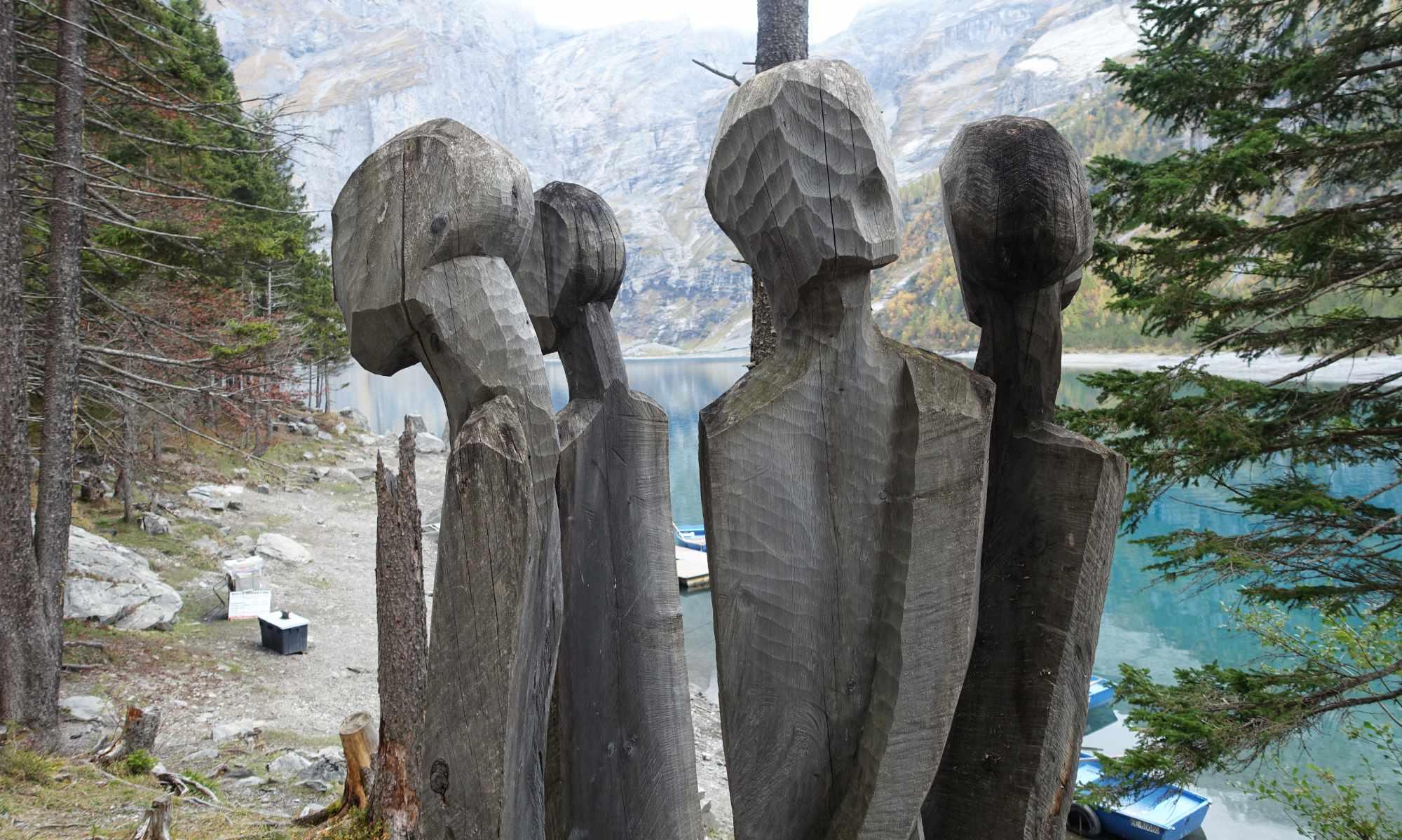 Kunstobjekt beim Öschinensee