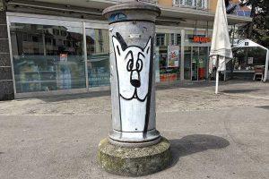 Graffiti, Neuweilerplatz, Basel