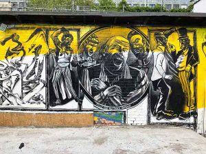 Berlin, Friedrichshain, Graffiti