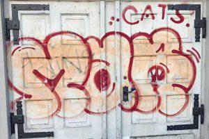 Basel, Neubadstrasse, Graffiti