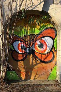 Graffiti, Basel, beim Allschwilerweiher
