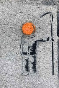 Graffiti, Basel, Reiterstrasse