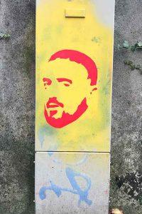 Graffiti, Basel, St. Galler-Ring