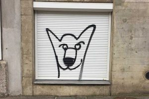 Graffiti, Basel, Schützenmattstrasse
