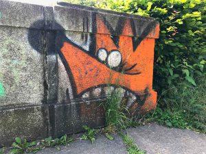 Graffiti, Basel, Neubadstrasse