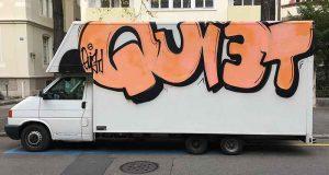Graffiti, Basel, Birsigstrasse
