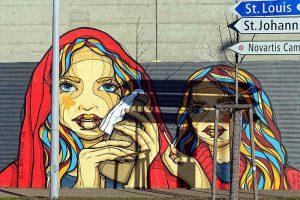 Graffiti, Basel, Neudorfstrasse
