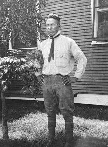 Howard White Winnebago Tribe