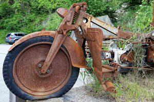 Motorrad, Rost