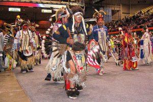 Powwow indigenes Leben