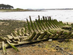 Schiffswrack, Bretagne