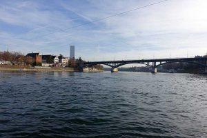 Basel, Rhein und Wettsteinbrücke