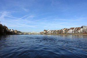 Basel, Rhein und Mittlere Brücke