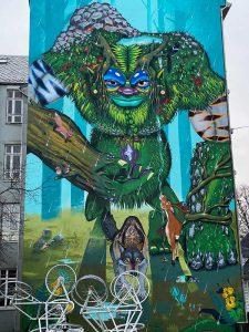 Graffiti Bergen Norwegen