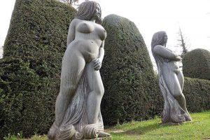 Fribourg Garten Auberge aux 4 vents bildende Kunst