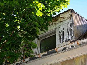 verlassener Ort, verlassenes Haus, lost place