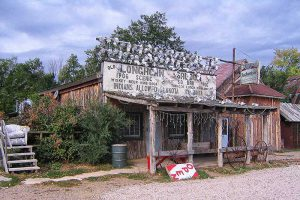 Ghost Town, Entering Reservation