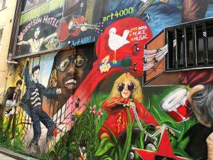 Graffiti, Basel, Gerbergässlein