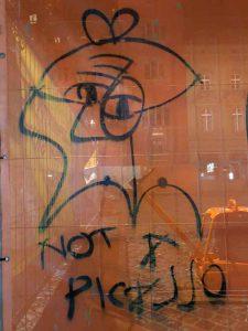 Graffiti Picasso Basel, Marktplatz