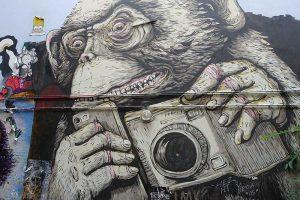 Haus Schwarzenberg Berlin, Graffiti