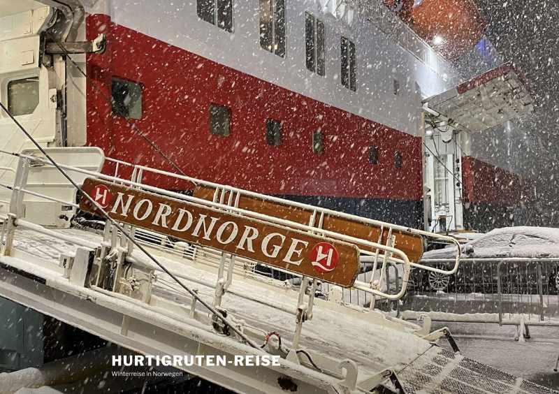 MS Nordnorge, Hurtigruten