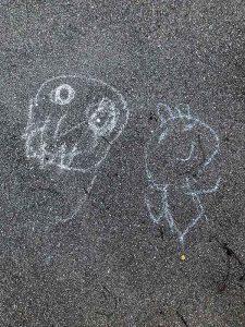 Strassenmalerei Kinder Basel Im langen Loh