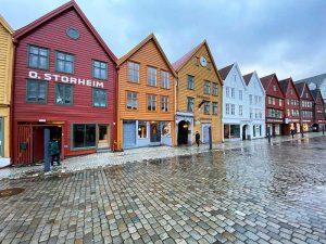 Bergen, Bryggen, Norwegen