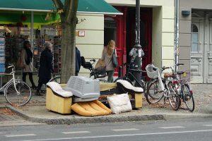 Strassenszene in Berlin