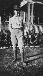 unbekannte Person, unknown person, Kelly Field 1920
