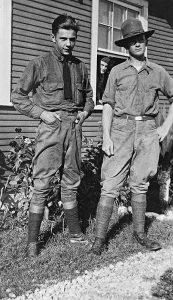 unbekannte Personen, unknown persons, Kelly Field 1920