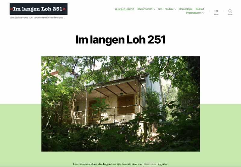 Website im langen Loh