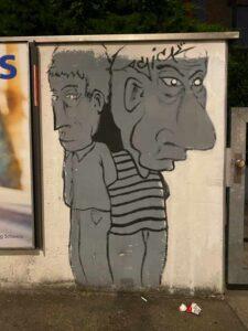 Graffiti, Klybeckstrasse, Basel