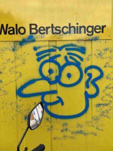 Basel, Im langen Loh, Graffiti