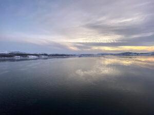 Kirkenes, Finnmark, Norwegen, Bøkfjorden