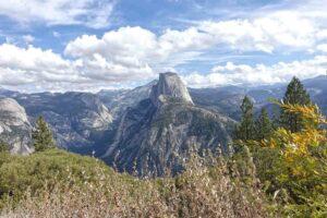 Wolken über dem Half Dome, Yosemite USA