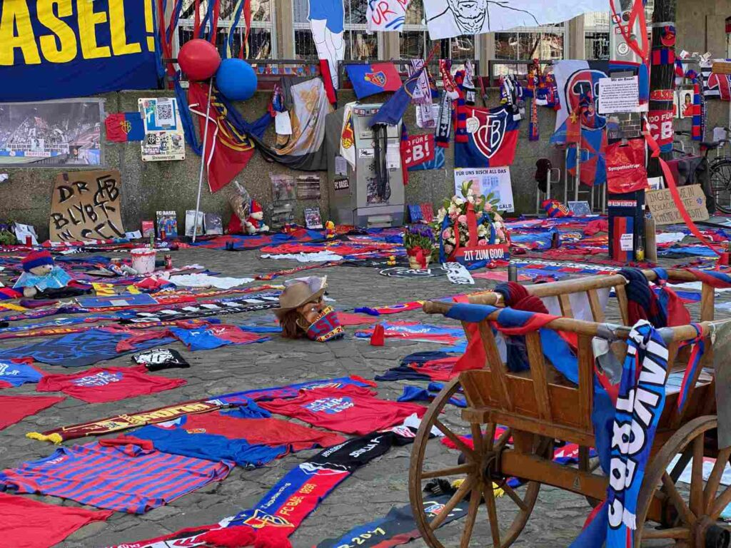 FCB-Mahnmal Barfüsserplatz Basel