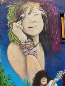 Graffiti, Basel, Gerbergässlein, Janis Joplin