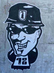 Graffiti, Allschwil, Binningerstrasse, FC Basel 12