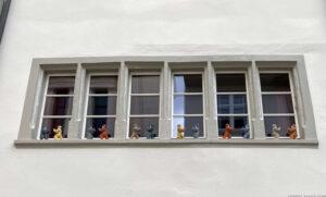 Tai chi Figuren, Augustinergasse Basel