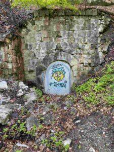 Graffiti, Aareufer bei Ittigen