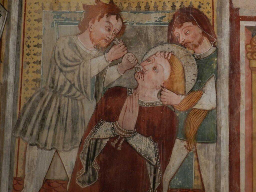 Freske, Kapelle im Tessin