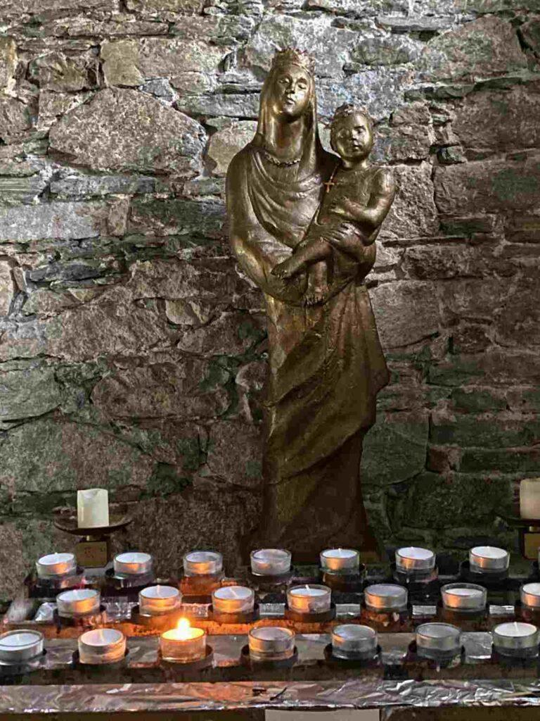 Madonna Statue, Maggia